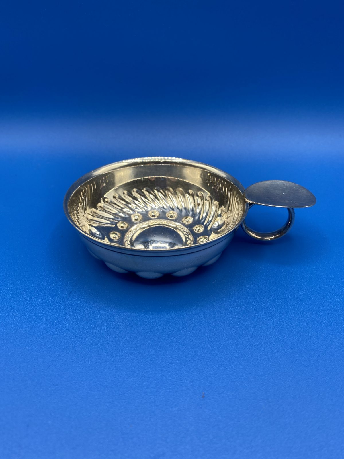 G3 - A Large Silver Plated Tastevin.  £26